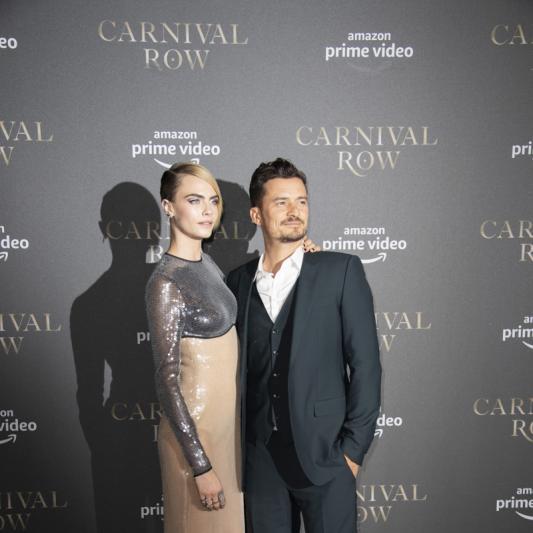 Cara Delevingne und Orlando Bloom